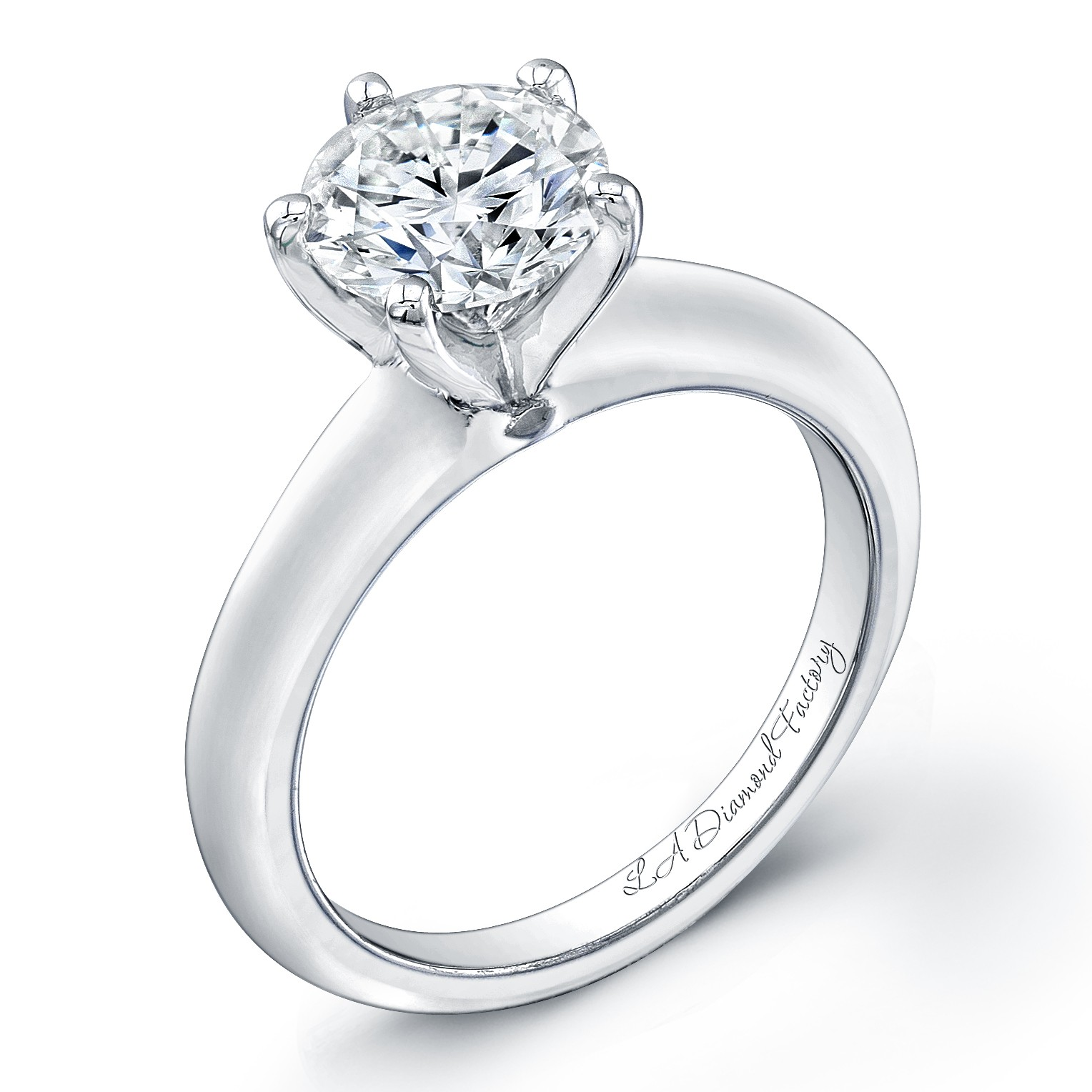 Classic 6-Prong Solitaire Engagement Ring