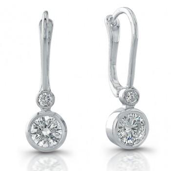 Diamond Drop Earrings (3/4ctw)